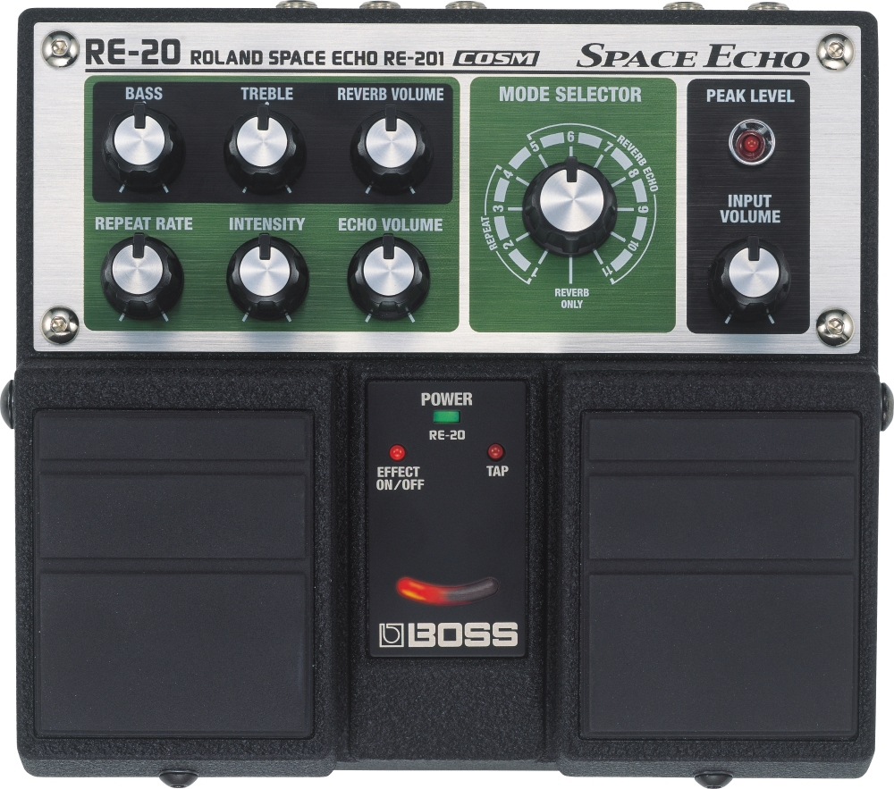 Boss RE-20 Space Echo Delay   Reverb Pedal by Boss
