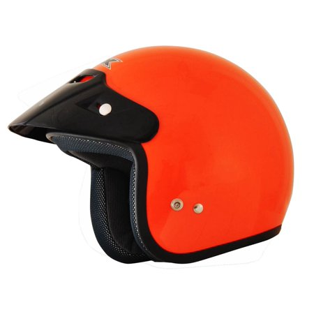 AFX FX-75 2016 Solid Open Face Helmet Safety - Afx Helmet Liner