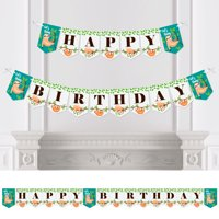 Let's Hang - Sloth - Birthday Party Bunting Banner - Birthday Party Decorations - Happy Birthday