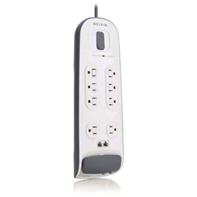 Belkin Components 8-outlet Surge Protector With 6 Ft Power Cord With Telephone Protection by Belkin