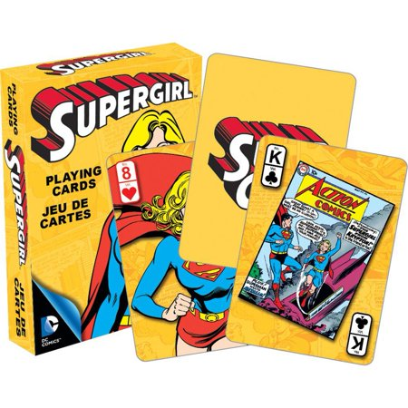 Supergirl Playing Cards,  Card Games by NMR Calendars](Playing Cards Games)