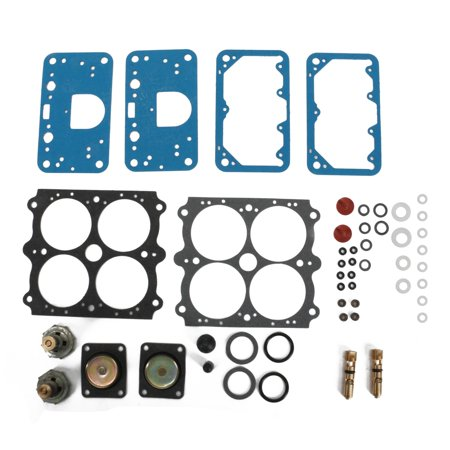 Willys Carbs WCDKIT-4GW 4 Barrel Master Rebuild Kit, Gas