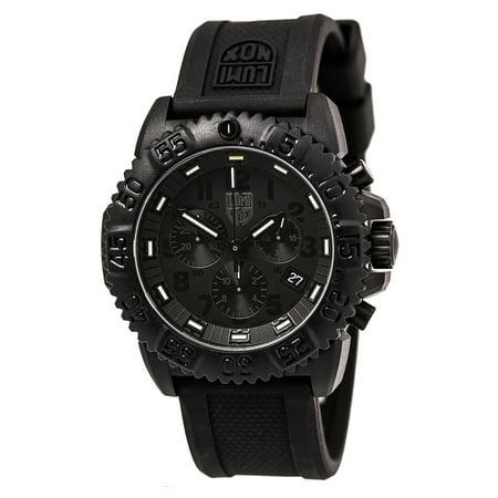 - Luminox 3081.BO Men's Blackout EVO Chronograph Watch