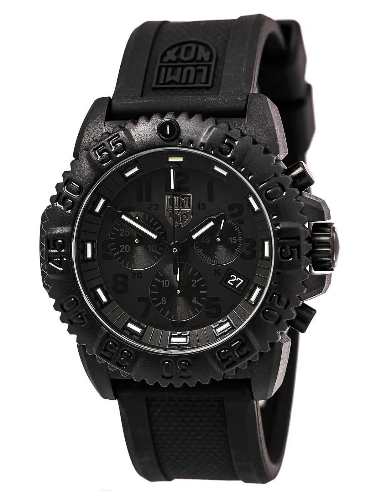 Luminox 3081.BO Men's Blackout EVO Chronograph Watch