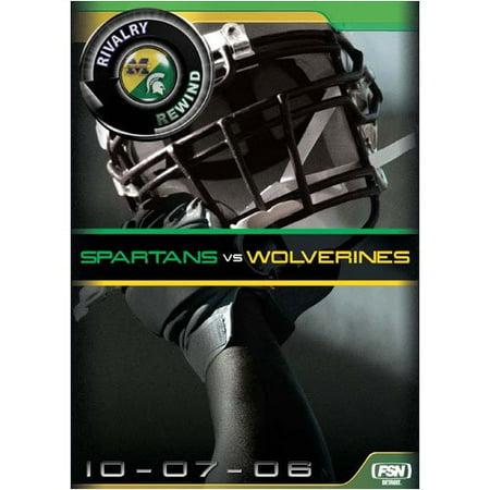 Rivalry Rewind: Wolverines Vs Spartans (DVD)](Spartan Movie)