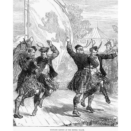 Highland Dancing 1872 Nhighland Dancing At The Crystal Palace London ...