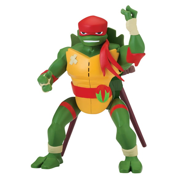 Rise of the Teenage Mutant Ninja Turtle Raphael SideFlip Attack Deluxe Figure