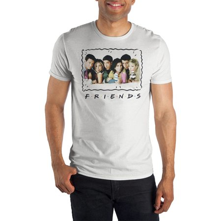 Friends TV Show Cast Milkshakes Photo T-Shirt (Best Friend Shirts For Sale)