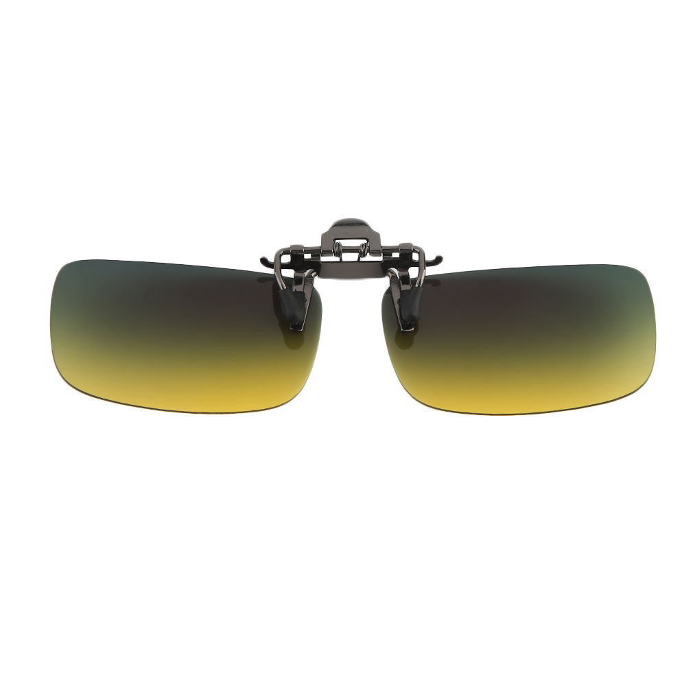 8205c4ec7d3 Mens Women Retro Outdoor Sports Polarizing Clip on Flip-up Sunglasses  Driving