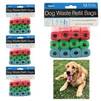 48 Rolls Dog Pet Waste Refill Bags Poop Pooper Pick Up Clean Coreless Outdoor