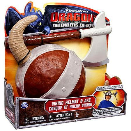 How to Train Your Dragon Dragons Defenders of Berk Viking Helmet & Axe