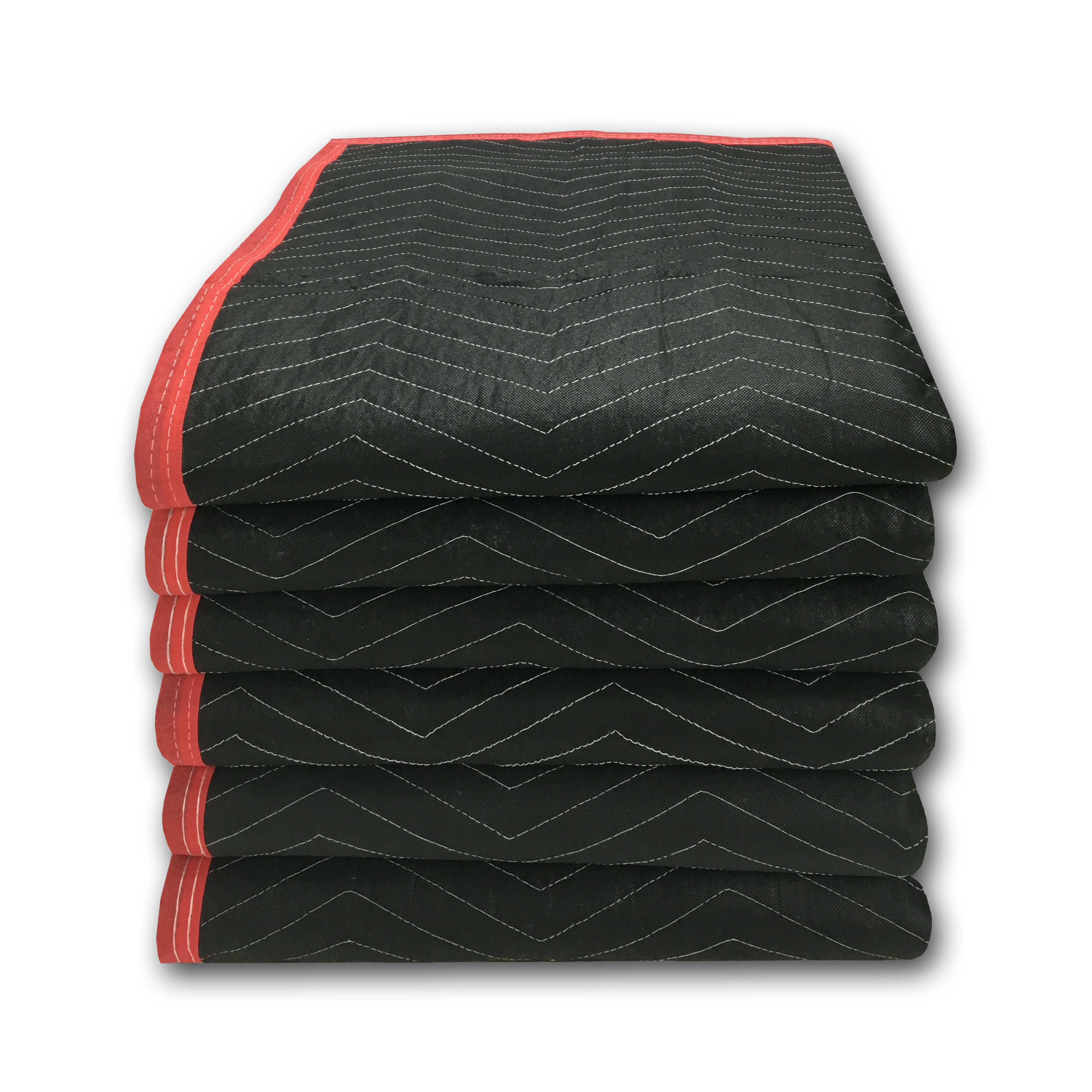 Uboxes Deluxe Moving Blankets, 72 x 80 in, 5.42lbs each, 6 Pack