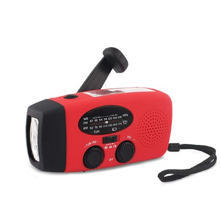 Dynamo Solar Hand Crank Emergency Radio & Flashlight - image 1 of 1