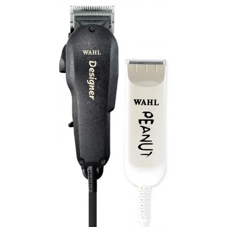 Wahl Professional All Star Combo #56169 - Burgundy Designer Clipper and  Classic White Peanut Trimmer, 980g