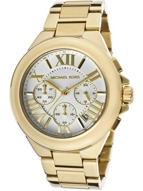 d4ac5f28bd13 Product Image Michael Kors Camille Gold-Tone Chronograph Ladies Watch MK5635
