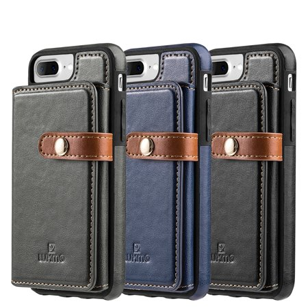 Heritage Case - Iphone 8 / 7 / 6 Plus The Heritage High Quality Leather Case Wallet