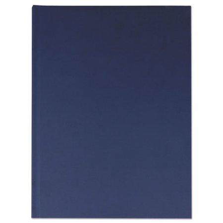 Casebound Hardcover Notebook, 10 1/4 x 7 5/8, Dark Blue (Casebound Notebook)