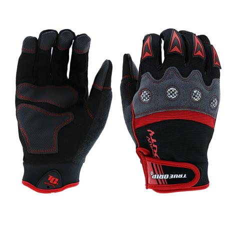 True Grip Heavy Duty Pro with Touchscreen Gloves, XL