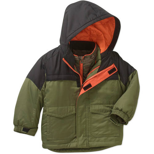 d870b79029af Baby Toddler Boy 3 in 1 Ski Snowboard Jacket w  Removable Fleece ...