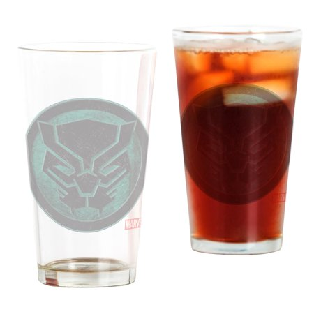 - CafePress - Black Panther Grunge Icon - Pint Glass, Drinking Glass, 16 oz. CafePress