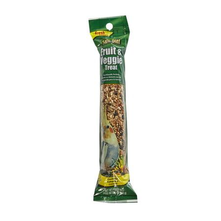 (2 pack) Forti-Diet Treat Stick Fruit and Vegetable Flavor Cockatiel 4 oz