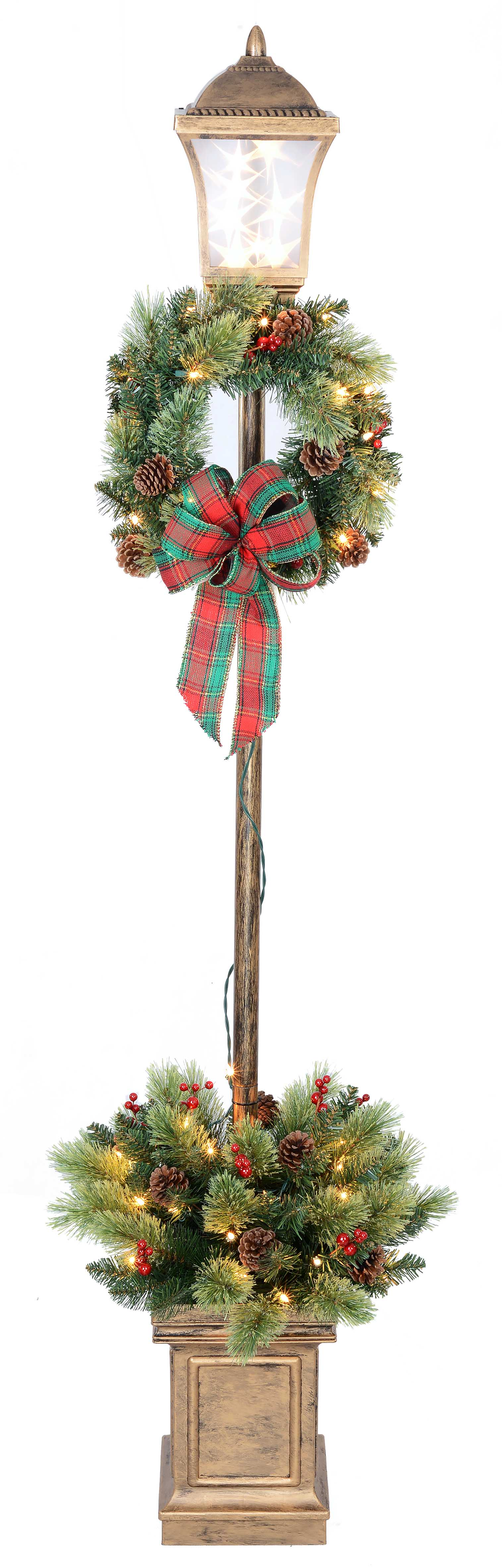 holiday time 6 ft christmas lamp post walmartcom