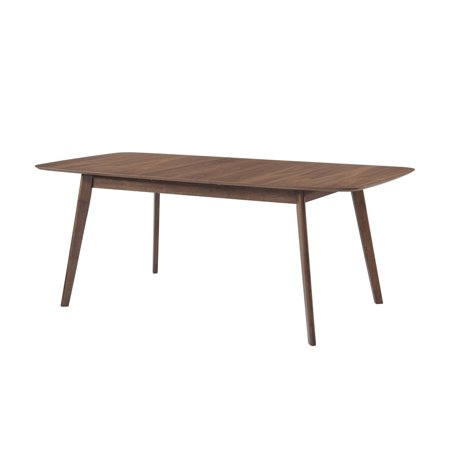 Coaster Company Redbridge Mid Century Modern Dining Table Natural Walnut