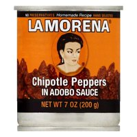La Morena in Adobo Sauce Chipotle Peppers, 7 OZ (Pack of 12)