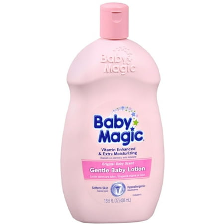 2 Pack - Baby Magic Gentle Baby Lotion Original Baby Scent 16.50 (Baby Magic Lotion)