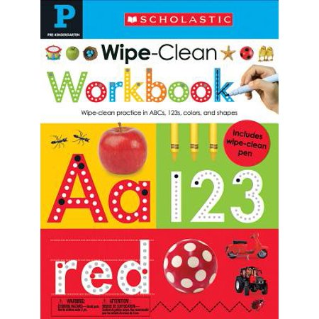 Wipe Clean Workbook: Pre-K (Scholastic Early Learners) (Scholastic Monthly Idea Book)
