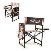 Picnic Time Coca-Cola Moka Sports Chair