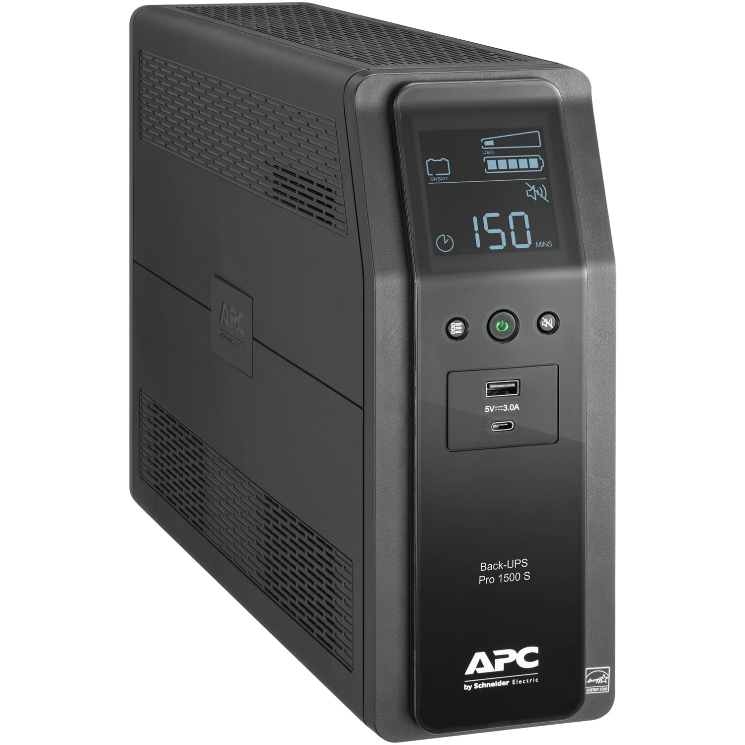 APC Sine Wave UPS Battery Backup & Surge Protector, 1500VA
