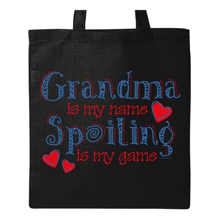 Spoiling Grandma Tote Bag - Grandma Photo Tote