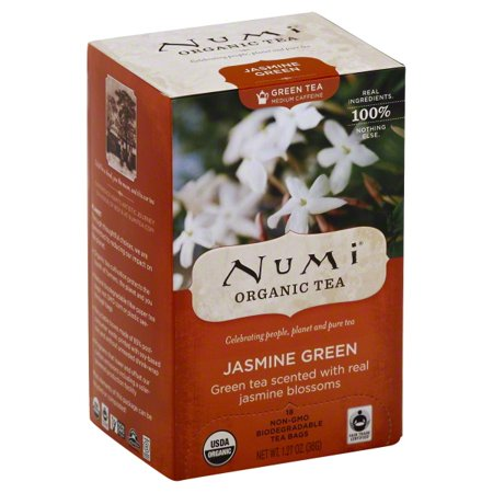 Numi Organic Tea Bags Jasmine Green - 18 CT