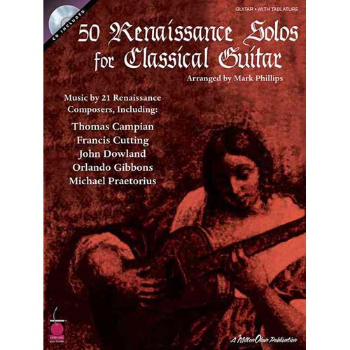 50 Renaissance Solos for Classical Guitar by