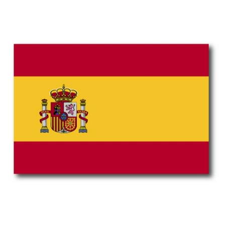 spain spanish flag car magnet decal    heavy duty  car truck suv walmartcom