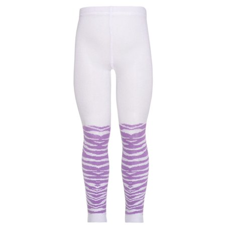 - Kellys Kids Purple White Cotton Nylon Spandex Tights Little Girl XXS-L