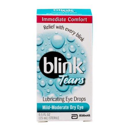 Blink tears eye drops size 0.5 oz