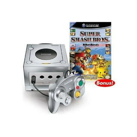 Refurbished Platinum Nintendo Gamecube Super Smash Bros. Melee