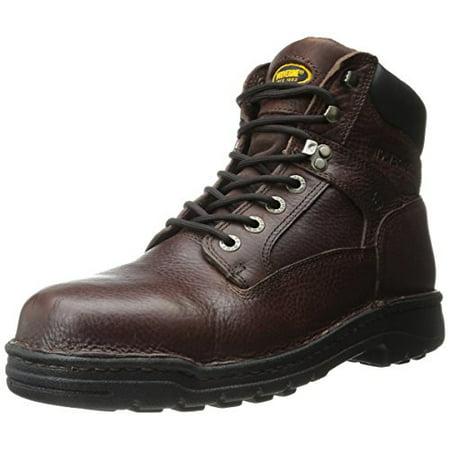 e8b6bdd7400 Wolverine Men's Exert 6 Inch Steel EH Dura SR Work Boot, Briar, 8 M US