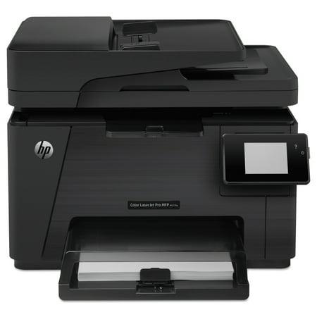 HP Color LaserJet Pro M177fw Wi-Fi Multifunction Laser Printer, Copy/Fax/