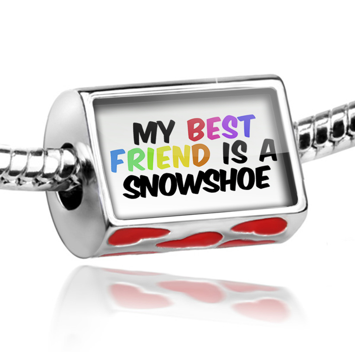 Bead My best Friend a Snowshoe Cat from United States Charm Fits All European Bracelets by NEONBLOND