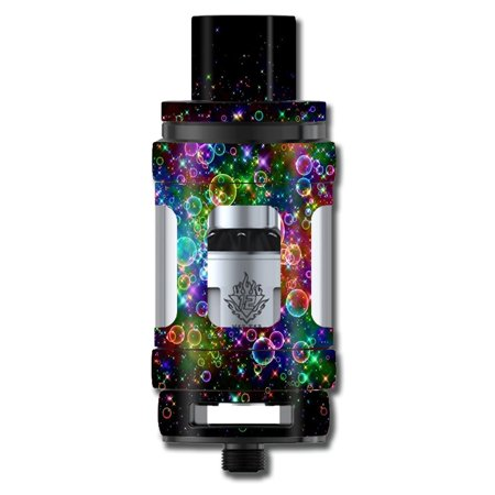 Skins Decals For Smok Tfv12 Cloud King Tank Vape Mod / Rainbow