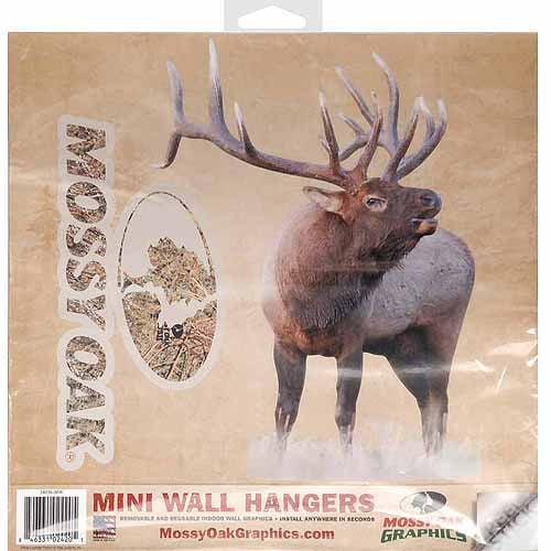 Mossy Oak Graphics 24036-MW Elk Bugling Cut-Out Multi-Colored