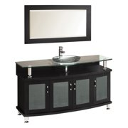 Fresca Contento FVN3319ES 55 in. Single Bathroom Vanity Set