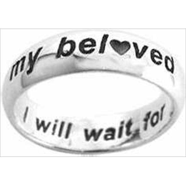 37912 Ring I Will Wait With Hearts Style 828 Ss Size 6 - image 1 of 1