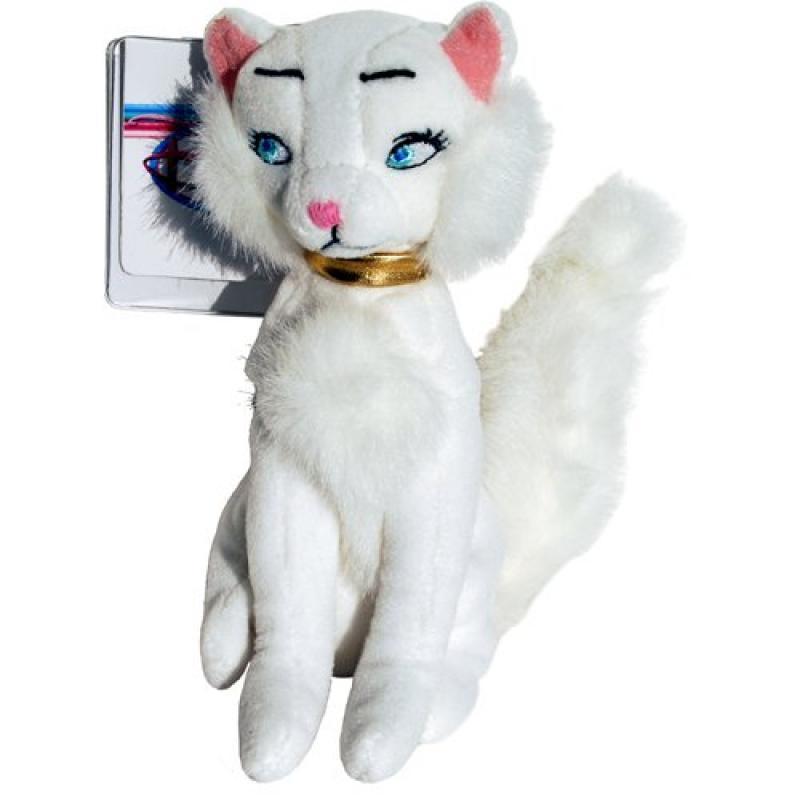 Aristocats Duchess the White Cat - Disney Mini Bean Bag Plush