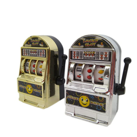 Children Adult Mini Casino Slot Machine Fruit Relieve stress Anxiety Boredom Decompression Lucky Jackpot Toy Color Random Color:Color random delivery](Jackpot Casino Parties)