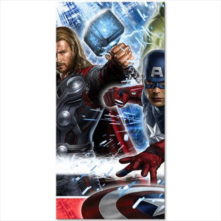 Avengers Plastic Table Cover - Avengers Table Cover