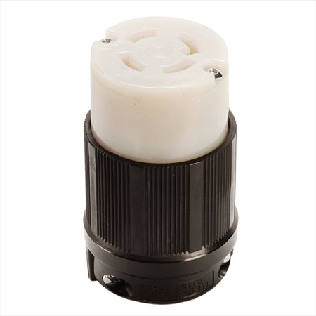 NEMA L16-30 Grounding Locking Connector, 30A 480V AC, 3 Pole 4 Wire, cUL Listed
